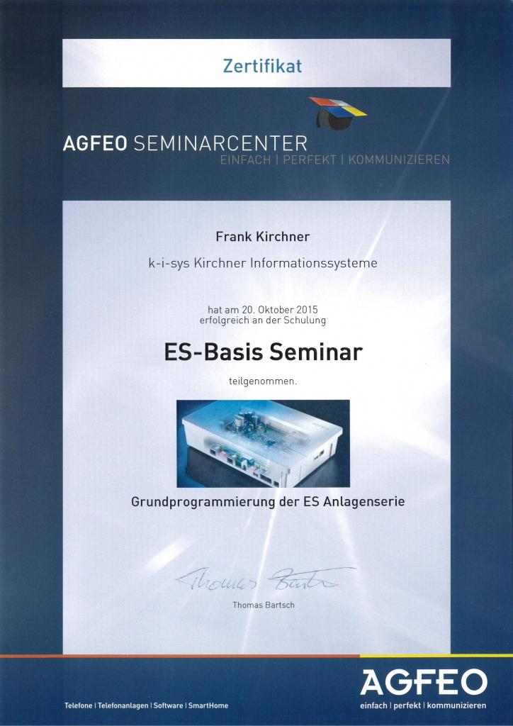 ES-Basic Seminar 2015