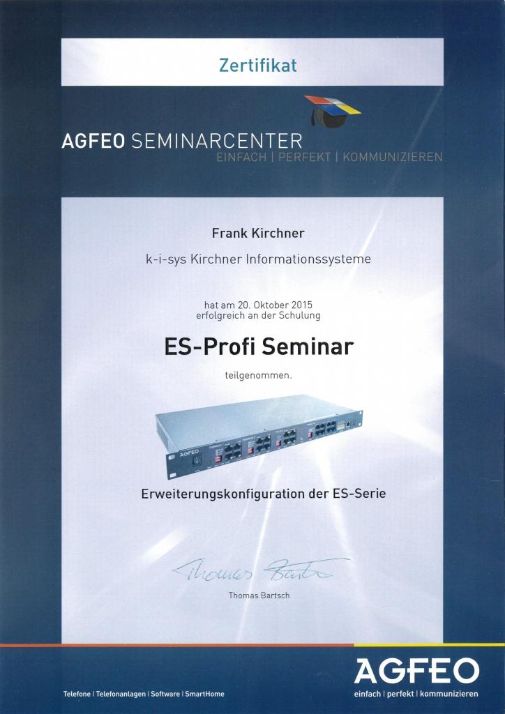 ES-Profi Seminar 2015