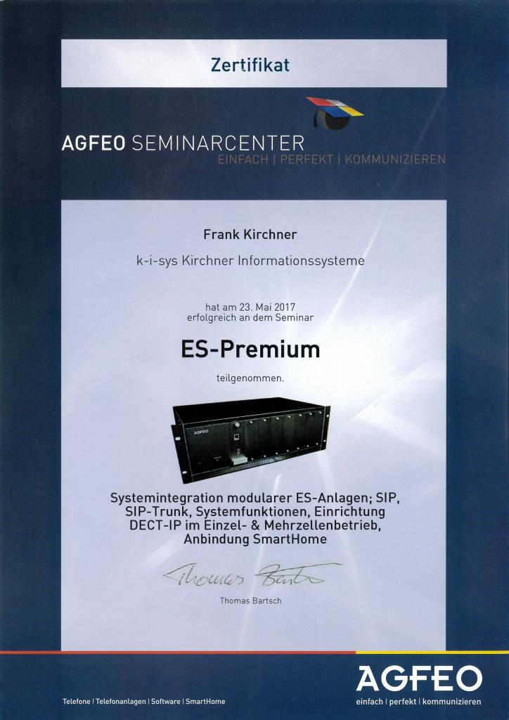 Agfeo ES-Premium 2017